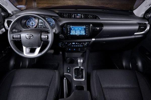 Toyota Hilux dashboard