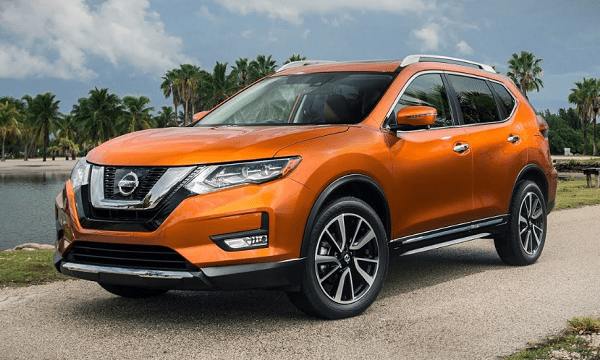 2020 Nissan X-Trail on the road