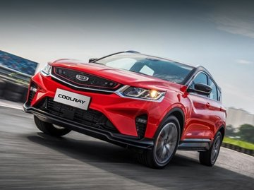 Coolray is the Geely's entry into crossover