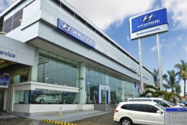 A picture of the Commonwealth Hyundai dealership