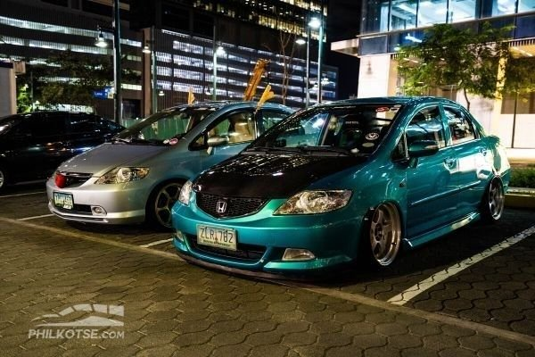 A picture of some of the cars from Club GD Aria