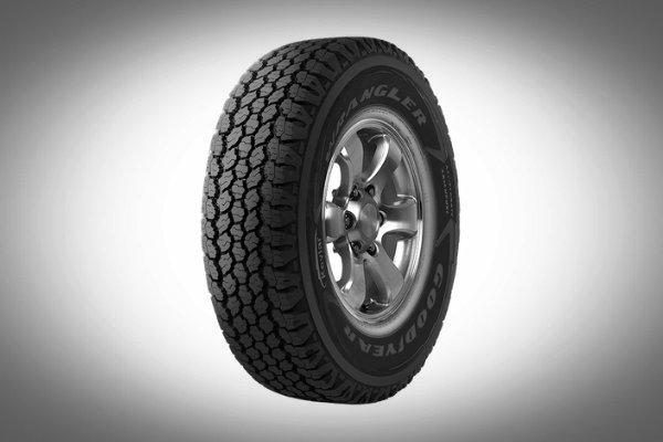 An all-terrain tire