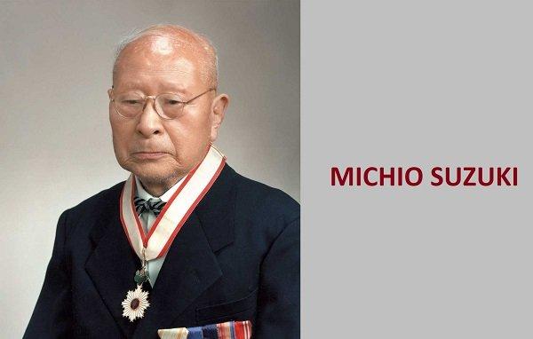 A picture of Michio Suzuki