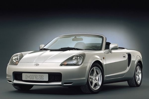 A picture of the Toyota MR2
