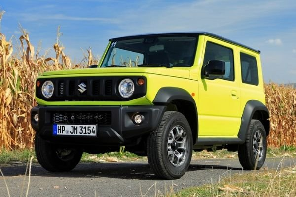 A picture of the Suzuki Jimny current generation