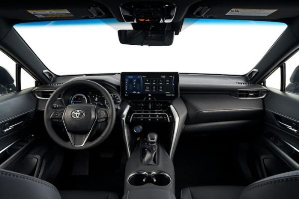 A picture of the interior of the 2021 Venza