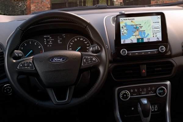 4.2-inch Instrument Cluster Display Screen of the EcoSport