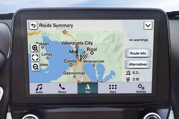 8-inch touchscreen with SYNC®3 of the EcoSport