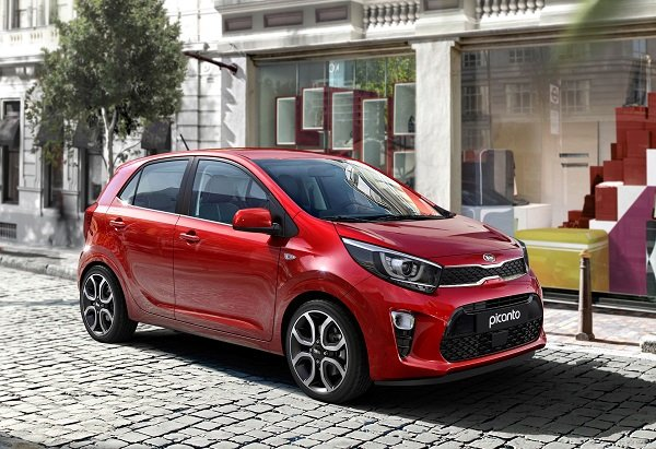 Picanto is arguably the best looking hatchback