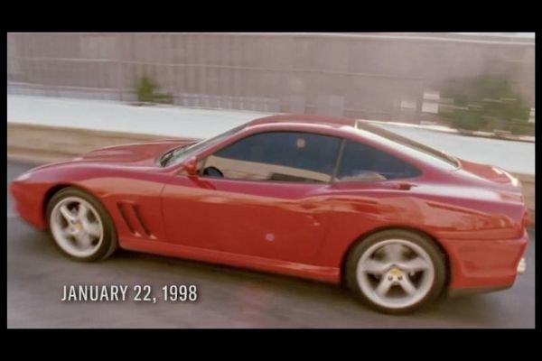 A picture of MJ's Ferrari Maranello