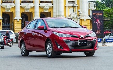 Vios is one of the most popular sedans