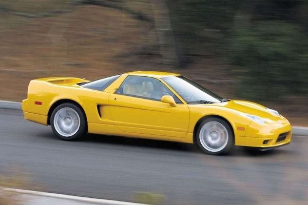 A picture of the Honda NSX