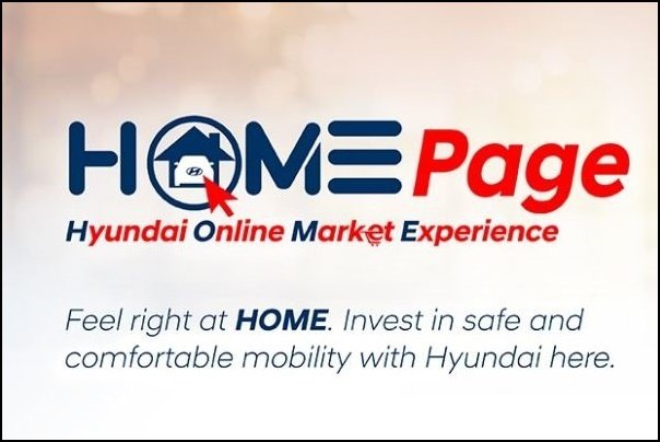 A picture of the HOME homepage