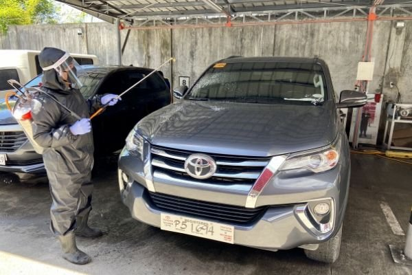 vehicle disinfection