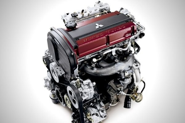 A picture of the 4G63 engine