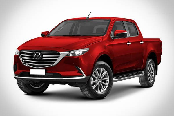 A picture of Kleber Silva's rendering of the upcoming Mazda BT-50