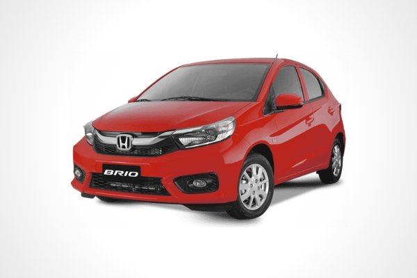 A red Brio with white background