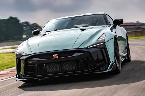 A picture of the GT-R50 on the road