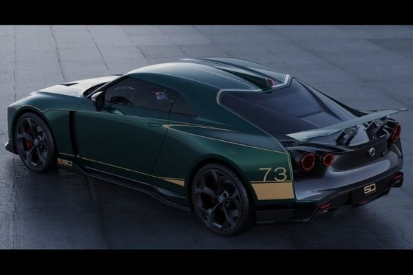 A picture of the GT-R50 from the top/rear