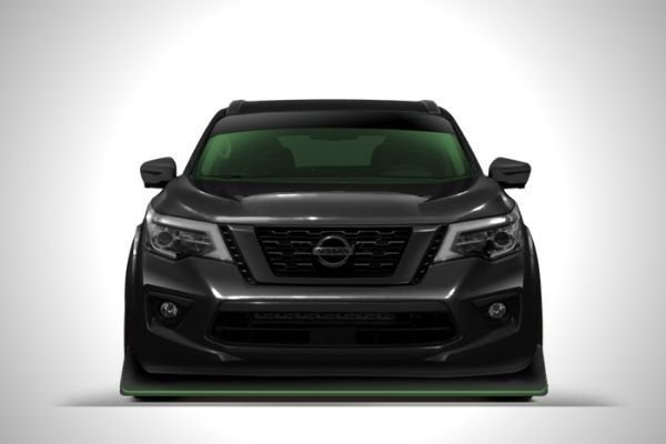 A picture of the front of the planned Navara-R