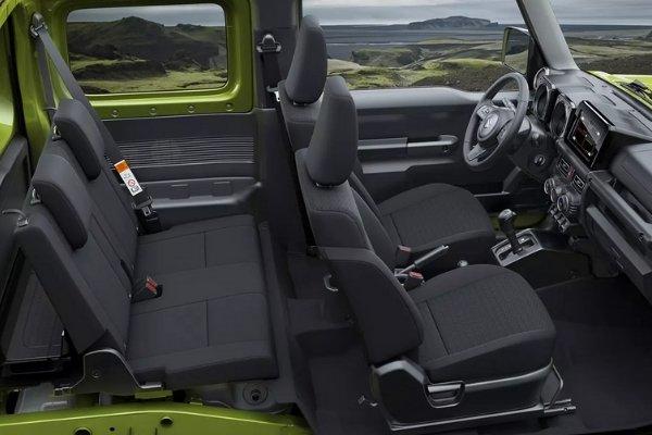 Seats of the Jimny