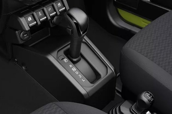 The 4-speed automatic transmission of the Jimny