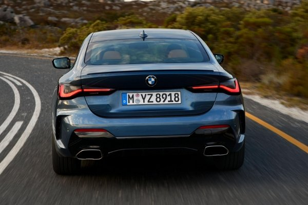 Rear view of the 4 Series