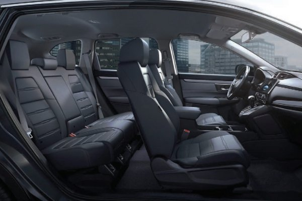 Interior view of the CR-V