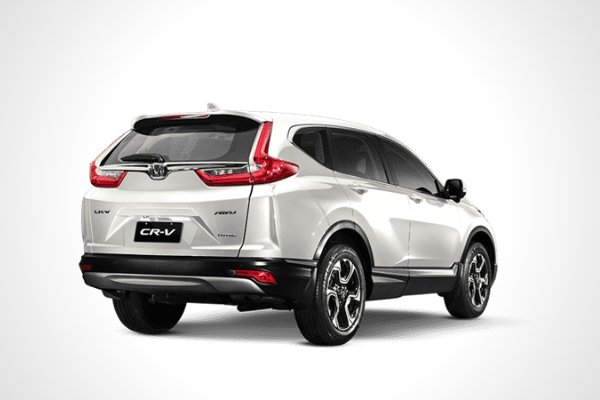 Rear view of the CR-V
