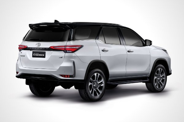 The 2020 Toyota Fortuner launched in Thailand