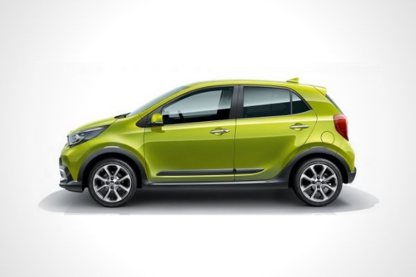 Side view of the Picanto