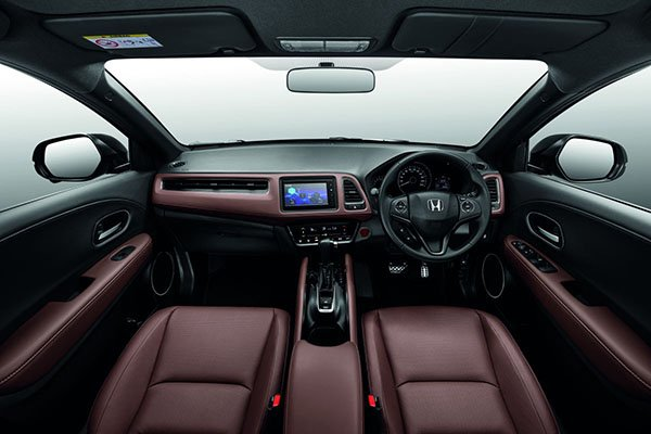 A picture of the interior of the Malay HR-V RS