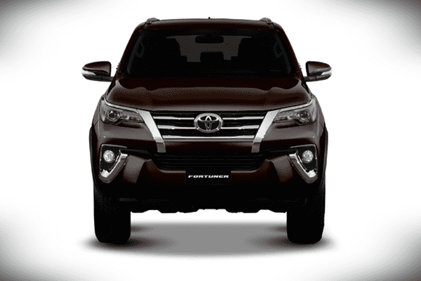 2016 toyota fortuner front