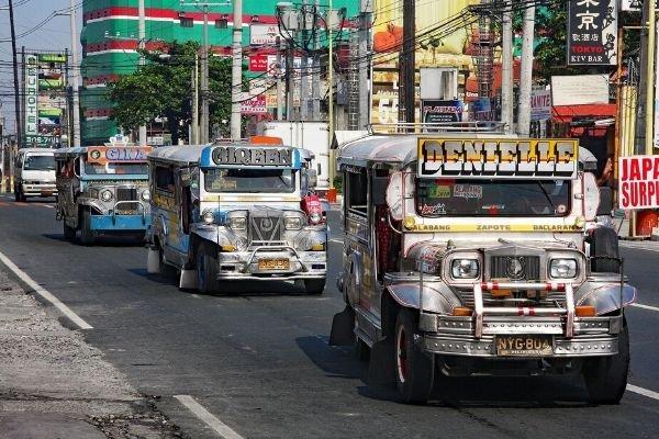 Jeepney row