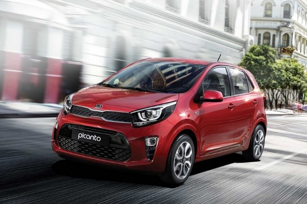 A red Picanto