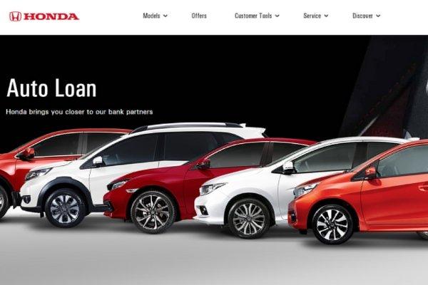 Honda's Auto Loan Link
