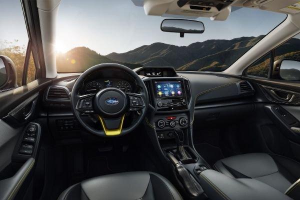 2021 Subaru XV Interior