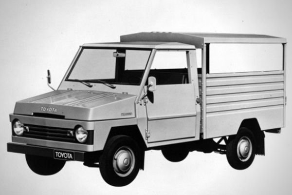 A picture of the 1st-generation Toyota Tamaraw