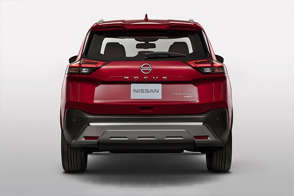 2021 nissan x-trail new rear
