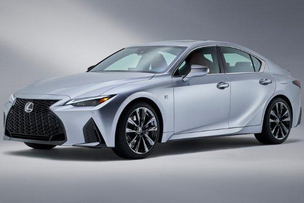 The new 2021 Lexus IS