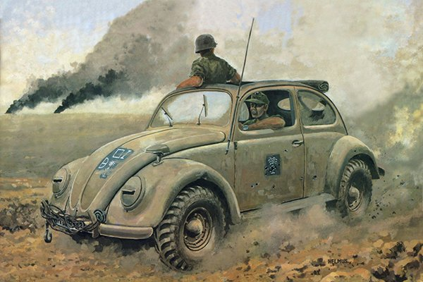 A picture of the VW Beetle