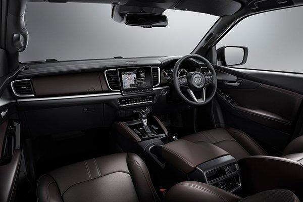 BT-50 new interior