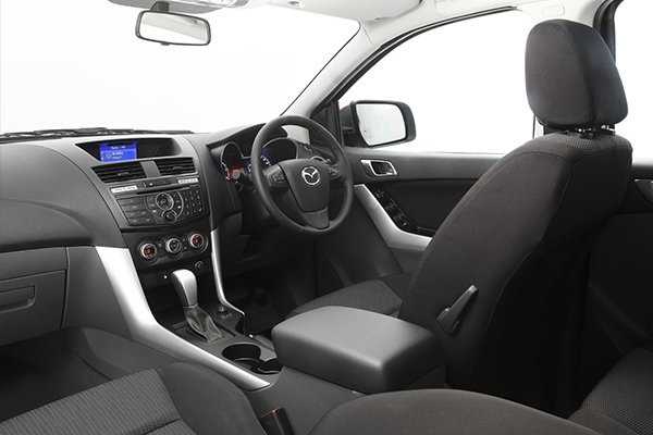 BT-50 old interior