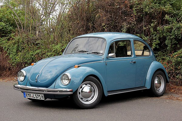 A picture of a VW Beetle