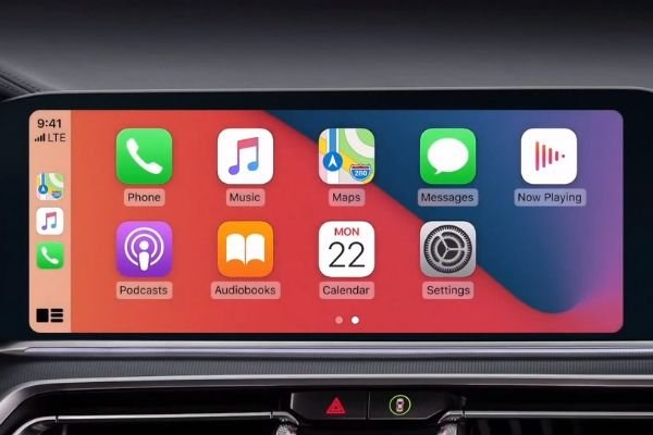 The infotainment system of the new 5 Series