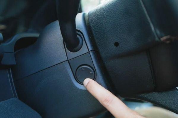 Power adjustable steering