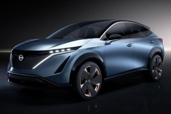 A picture of the Nissan Ariya