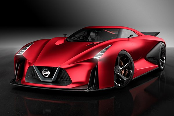 A picture of the Nissan Vision Concept Gran Turismo