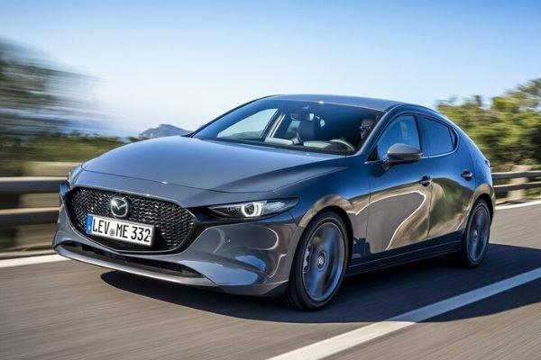 Mazda 3 grey