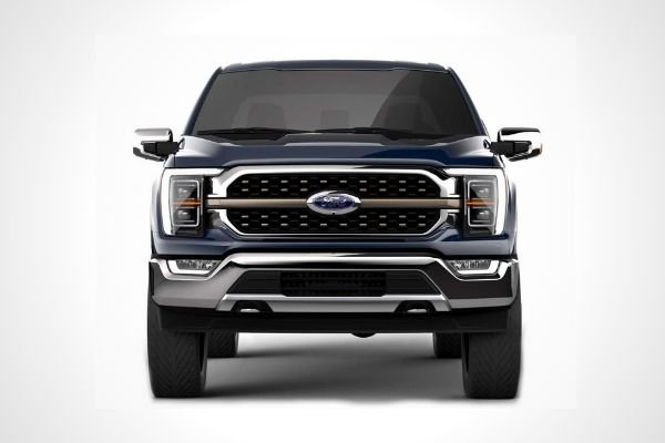 The 2021 Ford F-150 King Ranch Chrome